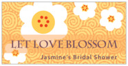 China Blossom rectangle labels