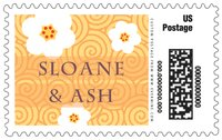 China Blossom large postage stamps