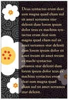 China Blossom text labels