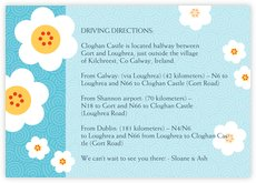 China Blossom enclosure cards