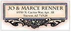 Cornucopia designer address labels