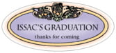Cornucopia oval labels