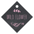 Chalkboard small diamond hang tags