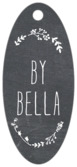 Chalkboard small oval hang tags