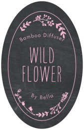 Chalkboard tall oval labels