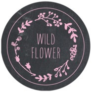 Chalkboard large circle labels