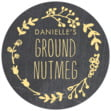 Chalkboard small round labels