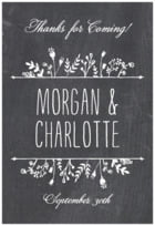 Chalkboard custom labels