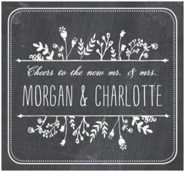Chalkboard large rectangle labels