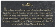 Chalkboard rectangle text labels