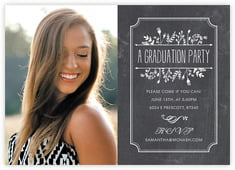 Chalkboard graduation cards