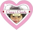 Cherish Hearts heart hang tags