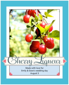 Cherish Hearts large labels