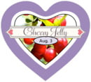 Cherish Hearts heart labels