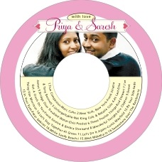 Cherish Hearts valentine's day CD/DVD labels