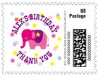 Circus small postage stamps