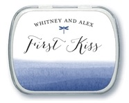 Color Wash wedding mint tins