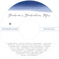 Color Wash graduation CD/DVD labels