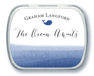 Color Wash Mint Tin In Deep Blue