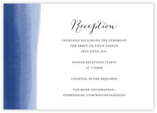 Color Wash wedding enclosure cards