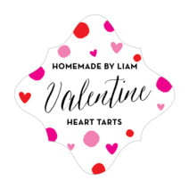 Confetti Hearts fancy diamond labels