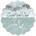 Chantilly scallop labels