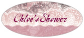 Chantilly oval labels