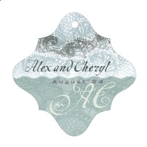 Chantilly fancy diamond hang tags