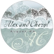 Chantilly large circle labels
