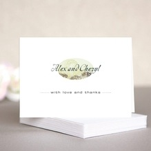 Chantilly note cards & envelopes