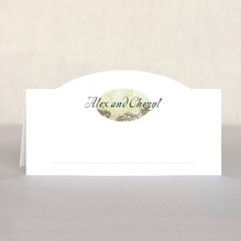 Chantilly place cards