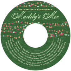 Dot Garland cd labels