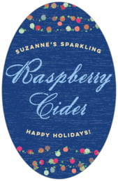 Dot Garland tall oval labels