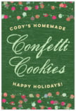 Dot Garland holiday labels