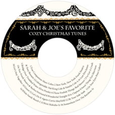 Deck the Halls cd labels