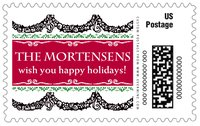 Deck the Halls large postage stamps