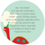 Dinosaur circle text labels