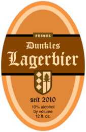 Dresdner tall oval labels