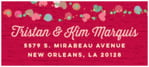 Divine Hearts designer address labels