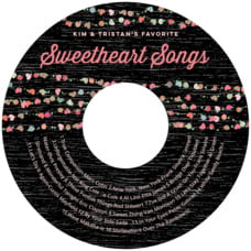 Divine Hearts cd labels