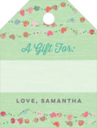 Divine Hearts small luggage gift tags