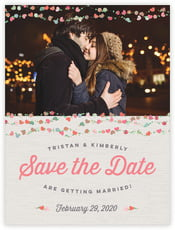 Divine Hearts save the date cards