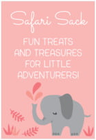 Baby Elephant tall rectangle labels