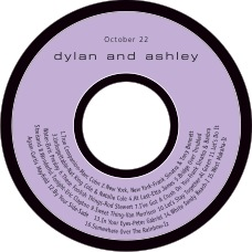 Fifth Avenue cd labels