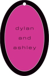 Fifth Avenue large oval hang tags