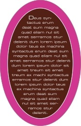 Fifth Avenue oval text labels