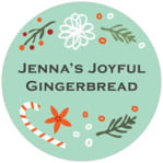 Floral Candycane circle labels