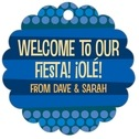 Fest scallop hang tags
