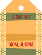 Fest Small Luggage Gift Tag In Sunburst
