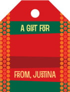 Fest small luggage gift tags